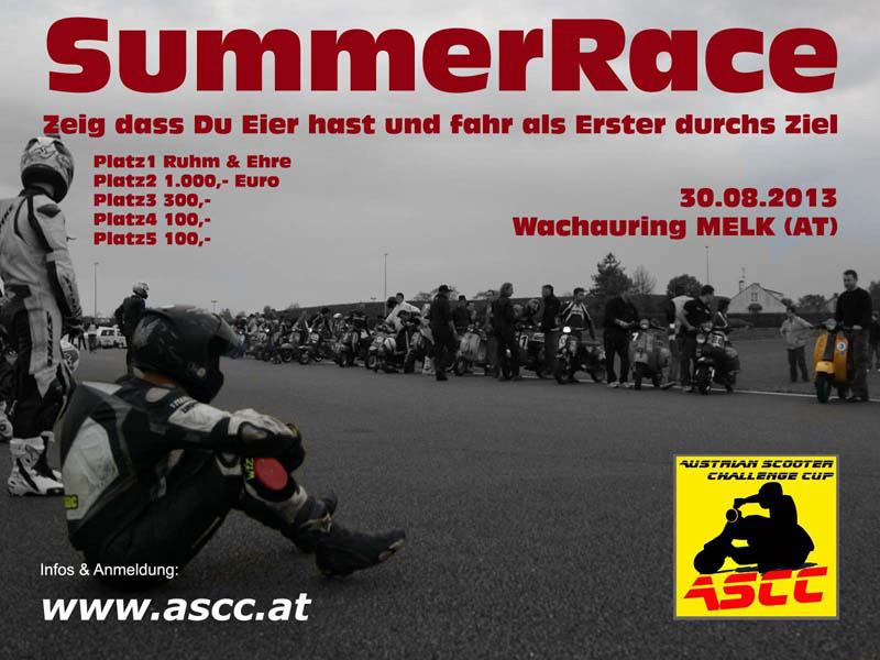 summerrace flyer